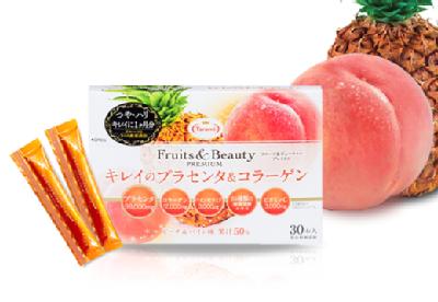 【ネコポス送料無料】たらみ Fruits&Beauty PREMIUM キレイのプラセ...