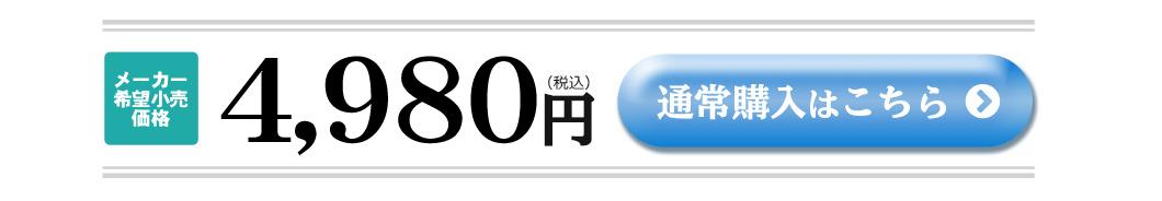 通常価格4980円(税込)